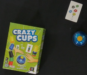 Le jeu CRAZY CUPS